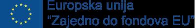EU logo i izjava o korištenom fondu
